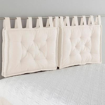 tte de lit matelasse pur coton scenario la redoute interieurs - Maison Du Monde Tete De Lit
