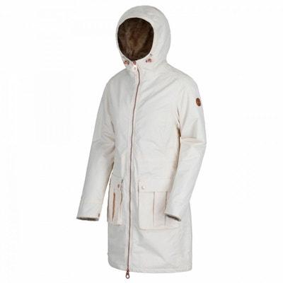 Manteau long blanc femme en solde   La Redoute ba9fd794e160