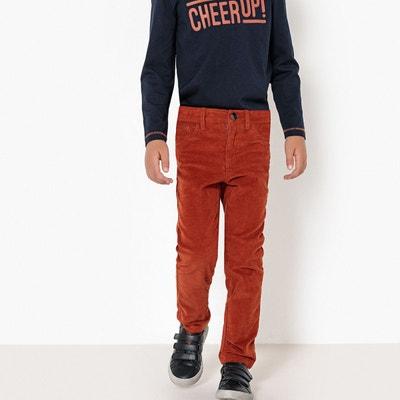 Pantalon slim velours 3-12 ans Pantalon slim velours 3-12 ans LA REDOUTE COLLECTIONS