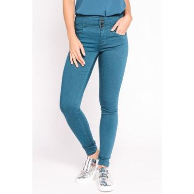 Pantalon skinny taille haute CACHE-CACHE