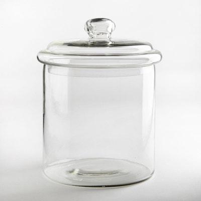Bonbonnière en verre avec couvercle Bonbonnière en verre avec couvercle LA REDOUTE INTERIEURS