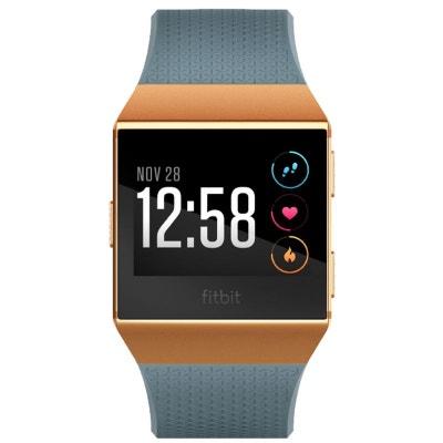 Montre sport GPS FITBIT Ionic orange métallisé / bleu ardoise Montre sport GPS FITBIT Ionic orange métallisé / bleu ardoise FITBIT