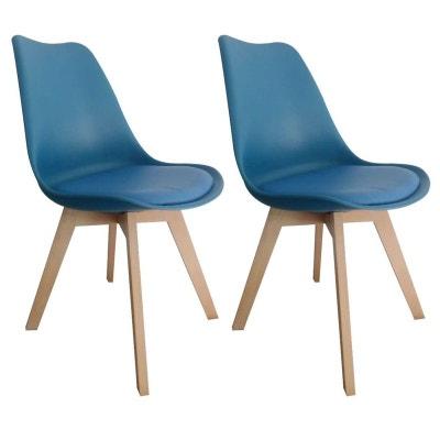 chaise style scandinave tony2 lot de 2 pier import - Chaise Style Scandinave