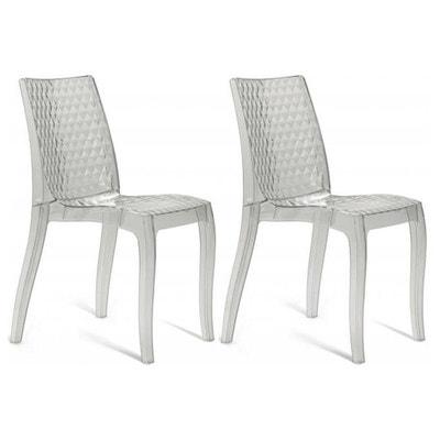 Chaise transparente la redoute - Chaises pliantes transparentes ...
