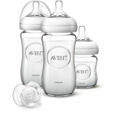 Kit biberons natural verre - Philips Avent Kit biberons natural verre - Philips Avent PHILIPS AVENT