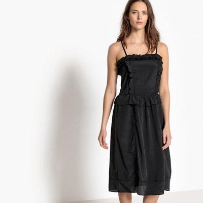 Vestido corpiño, con tirantes finos La Redoute Collections