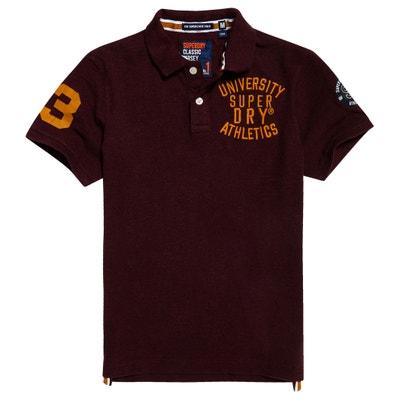 Cotton Polo Shirt SUPERDRY