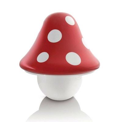 BOLETU - Lampe à poser Champignon Rouge H20,8cm - Luminaire enfants Philips designé par PHILIPS