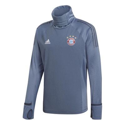 Training Top Adidas Training Top Bayern Munich Warm 2018-19 Bleu Homme Training Top Adidas Training Top Bayern Munich Warm 2018-19 Bleu Homme adidas