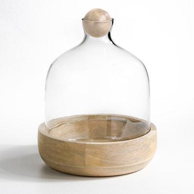 ROZO Glass and Mango Wood Terrarium AM.PM.