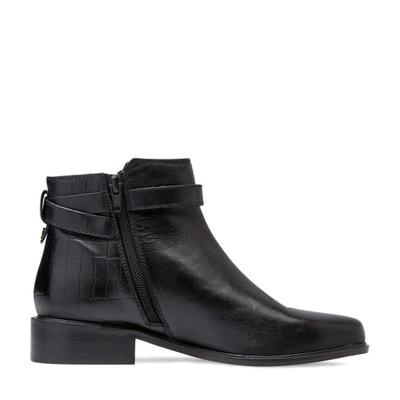 Boots pelle Poppy DUNE LONDON