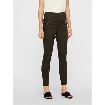 Pantalon Taille haute Coupe skinny Pantalon Taille haute Coupe skinny VERO MODA
