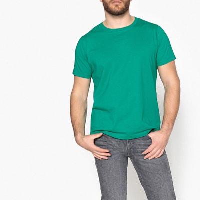 T-shirt con scollo rotondo tinta unita, maniche corte T-shirt con scollo rotondo tinta unita, maniche corte CASTALUNA FOR MEN
