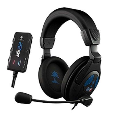 Ear Force PX22 casque filaire pour PS3  compatible PC/XBOX 360/Tablettes/ Samrtphones Turtle Beach Ear Force PX22 casque filaire pour PS3  compatible PC/XBOX 360/Tablettes/ Samrtphones Turtle Beach TURTLE BEACH