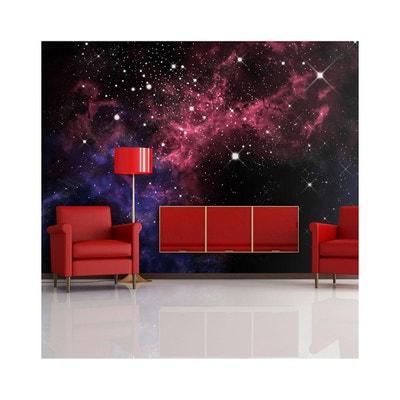 Papier Peint Espace Étoiles - Dimension - 350x270 RECOLLECTION