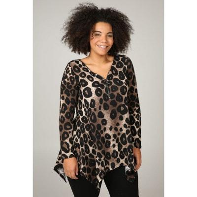 Tunique t-shirt imprimé léopard Tunique t-shirt imprimé léopard PAPRIKA