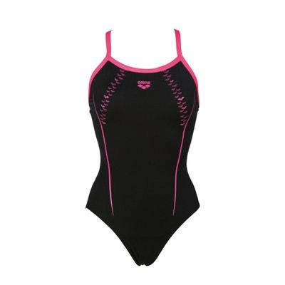 Jednoczęściowy wzorzysty kostium kąpielowy na basen Jednoczęściowy wzorzysty kostium kąpielowy na basen ARENA