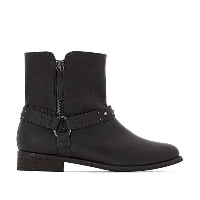Ботинки в байкерском стиле для широкой стопы, размеры 38-45 Ботинки в байкерском стиле для широкой стопы, размеры 38-45 CASTALUNA