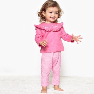 Completo felpa e pantaloni 0 mesi - 3 anni, Oeko Tex Completo felpa e pantaloni 0 mesi - 3 anni, Oeko Tex La Redoute Collections
