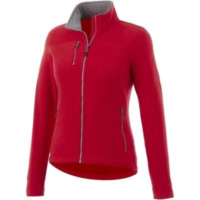 La En Redoute Rouge Polaire Solde Femme Veste RqO1An