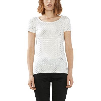 Printed Crew Neck T-Shirt Printed Crew Neck T-Shirt ESPRIT