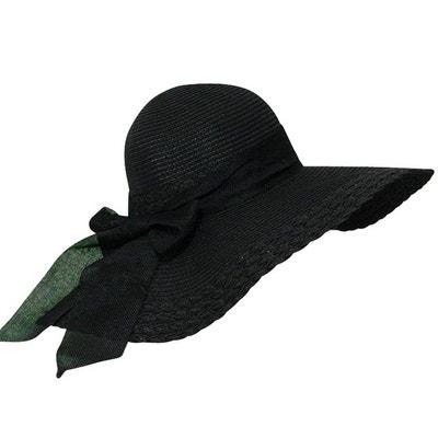 Chapeau capeline noir Suzy CHAPEAU-TENDANCE