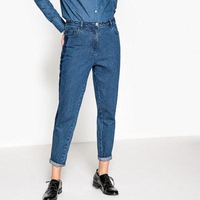 Jeans mom con bande a contrasto La Redoute Collections