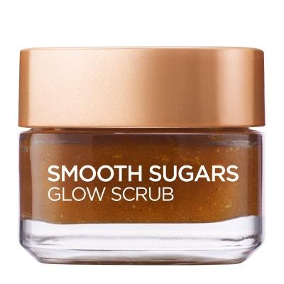 Smooth Sugar Glow Grapeseed Visage et Lèvres Exfoliant 50ml L'OREAL PARIS