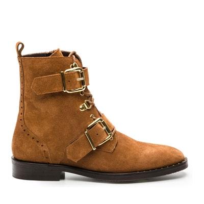 Vahia/Vel Flat Ankle Boots Vahia/Vel Flat Ankle Boots COSMOPARIS