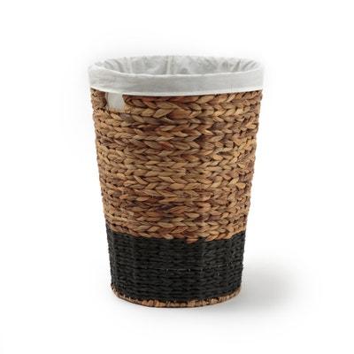 Ytria Two-Tone Woven Laundry Basket Ytria Two-Tone Woven Laundry Basket La Redoute Interieurs