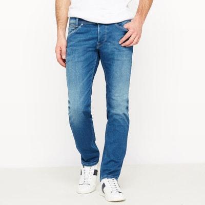 Spike Powerflex Slim Fit Jeans, Length 32