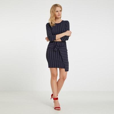Korte jurk met grafische print MORGAN