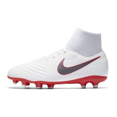 Chaussures football Nike Magista Obra II Academy DF FG Blanc Junior Chaussures football Nike Magista Obra II Academy DF FG Blanc Junior NIKE