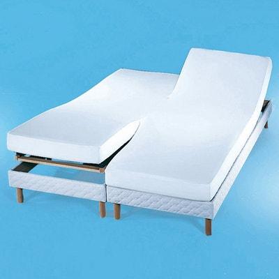 Coprimaterasso in tessuto felpato per letti accostati, 220 g/m² Coprimaterasso in tessuto felpato per letti accostati, 220 g/m² REVERIE