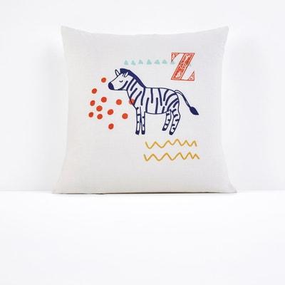 Animalia Single Printed Pillowcase Animalia Single Printed Pillowcase La Redoute Interieurs