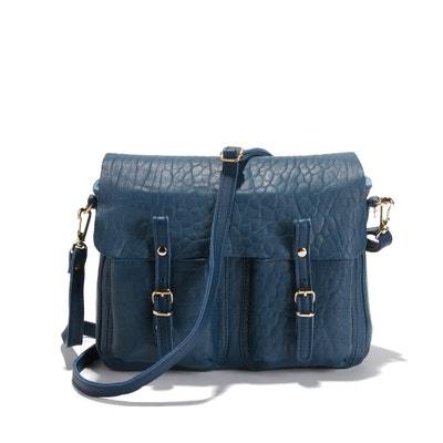 Mini Maths Bubble Leather Reversible Cross Body Bag CRAIE
