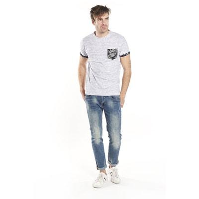 Deeluxe T-shirt Logotypé Reaser Grande Vente Prix Pas Cher Manchester 27wHV