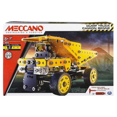 Meccano : Thème chantier : Camion Benne Meccano : Thème chantier : Camion Benne MECCANO