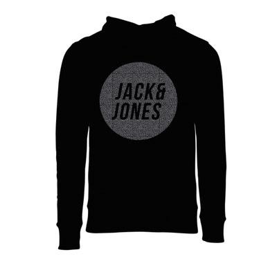 Kapuzensweatshirt mit Druck vorne JACK & JONES
