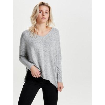 Pull ample long femme en solde   La Redoute 018f5ff4a7f7