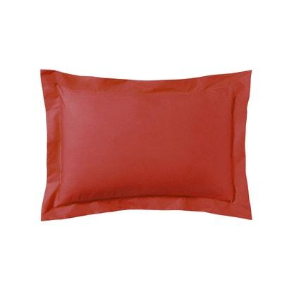 Taie d'oreiller unie en percale de coton, Royal Line Taie d'oreiller unie en percale de coton, Royal Line ESSIX