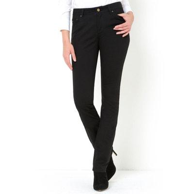 Pantalon droit coton stretch LA REDOUTE COLLECTIONS. Soldes 2692fb916ae9