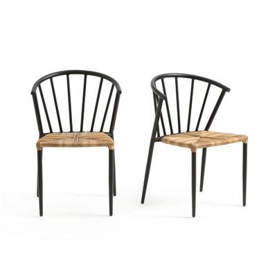 Chaise de jardin GLAZIN (lot de 2) La Redoute Interieurs