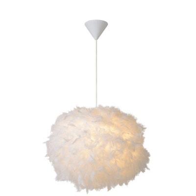 Luminaire Boule Plume La Redoute