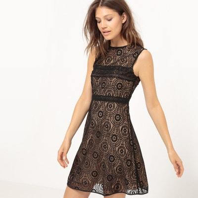 Sleeveless Flared Lace Dress Sleeveless Flared Lace Dress MOLLY BRACKEN