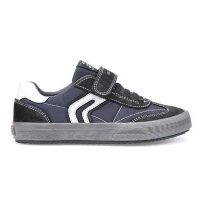 GEOX Aragon Baskets pour ados Chaussures de sport fermeture scratch CACQI