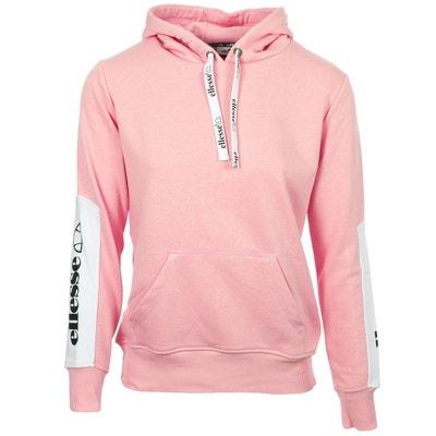 Sweat Eh F Hoodie Capuche Bicolore Rose ELLESSE 78d78898b4e0