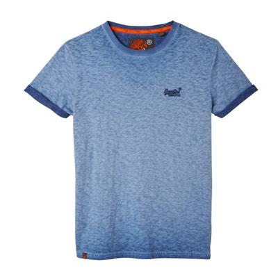 Camiseta de manga corta, cuello redondo SUPERDRY