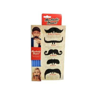 Pailles Moustaches, Cadeau Insolite Pailles Moustaches, Cadeau Insolite KAS DESIGN