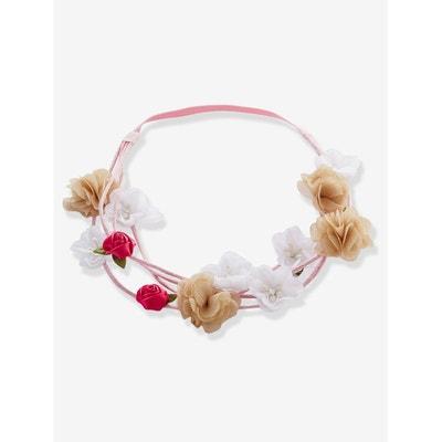 Headband double fleuri VERTBAUDET